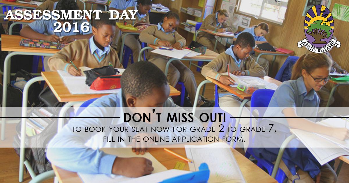 Assesment day grd 2 - 7