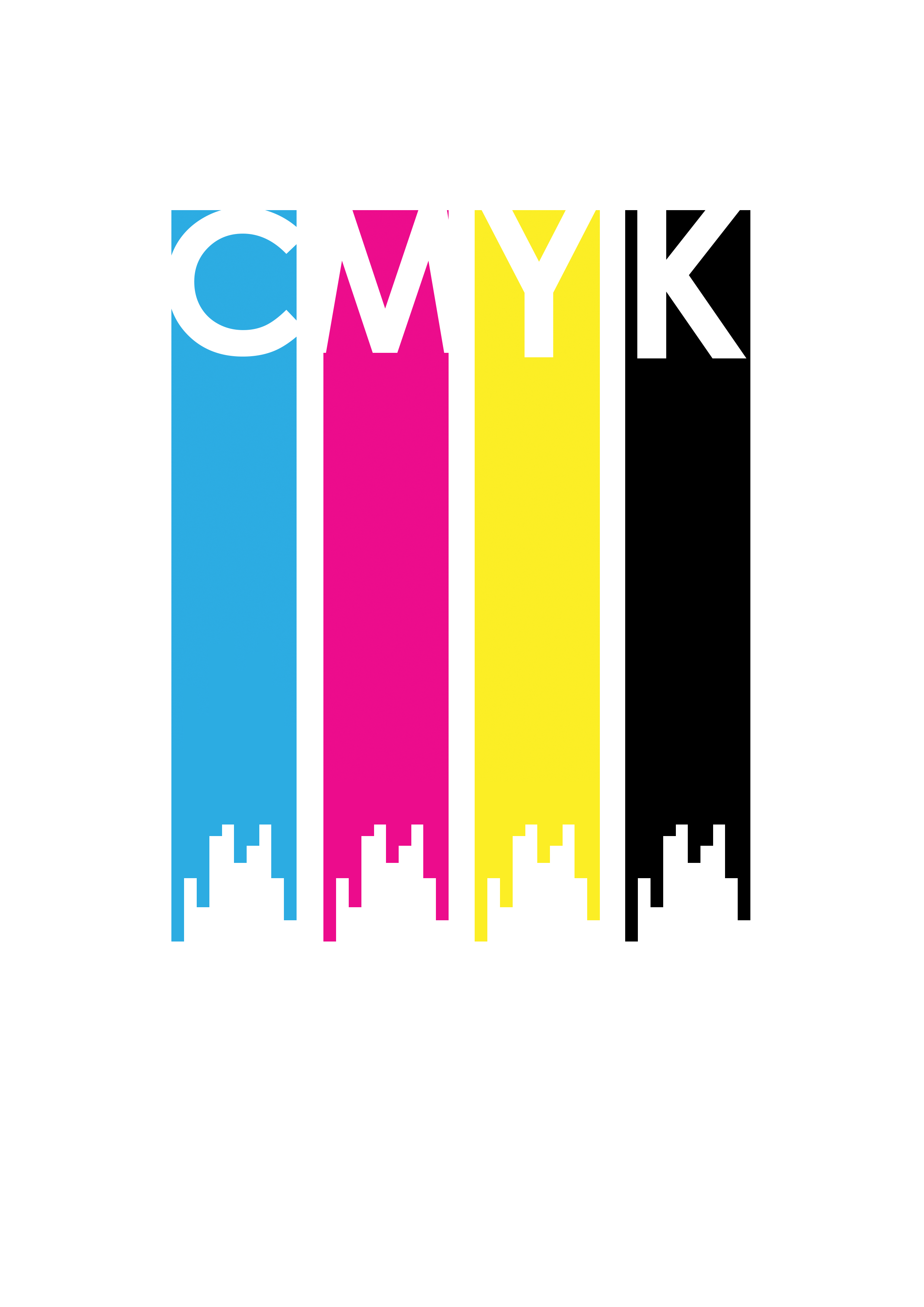CMYK creative design