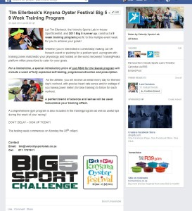 PR in the marketing mix Velocity Sports Lab Facebook campaign