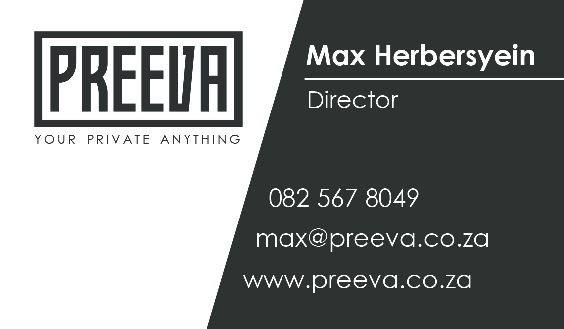 Preeva Business card