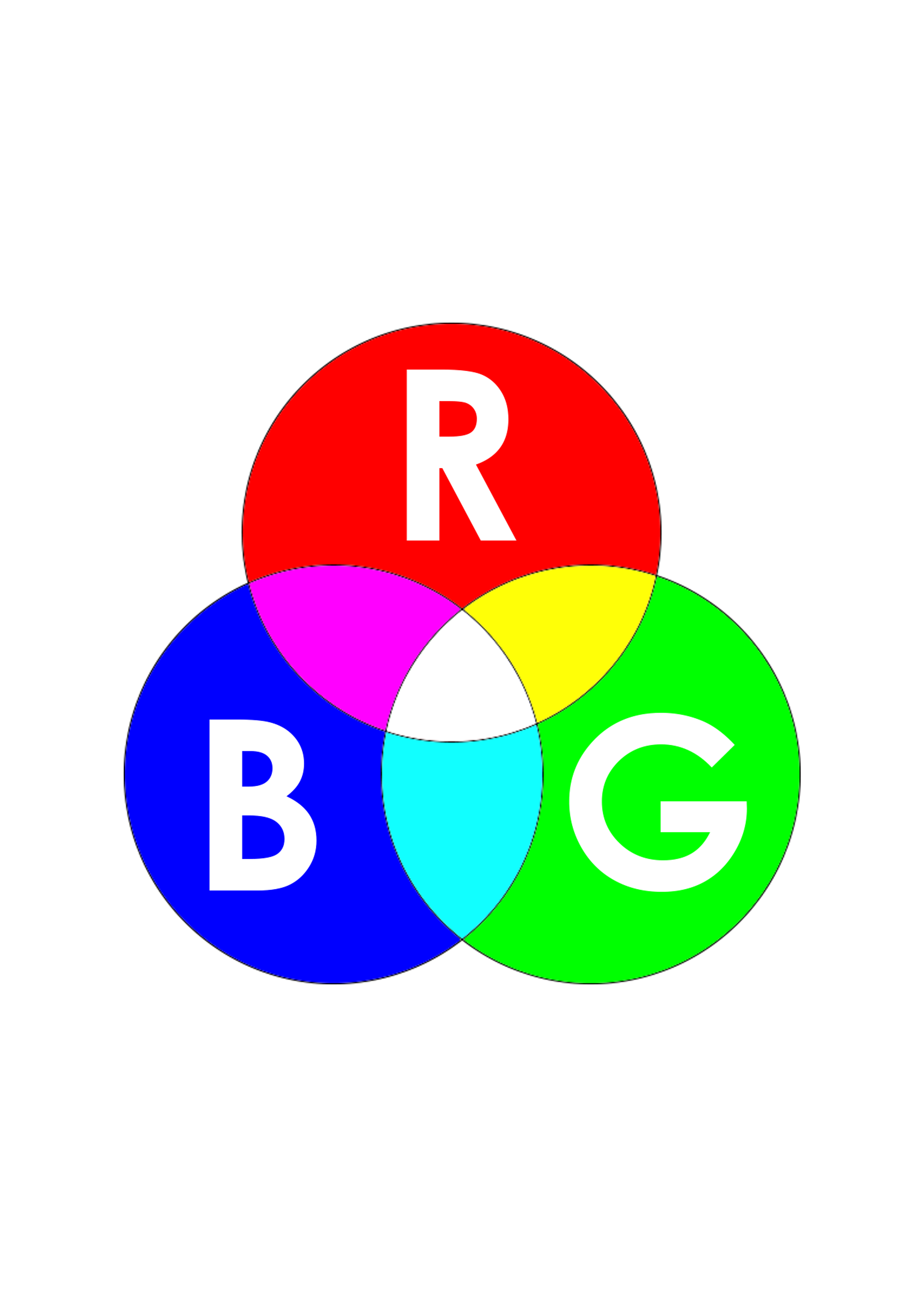 RGB creative design